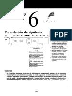 Hernández Sampieri R - MI - Cap 6 Formulación de Hipótesis