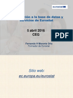 Presentacion General Eurostat - CEG