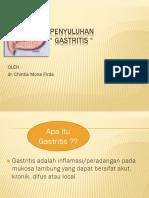 Penyuluhan Gastritis 2 Agustus