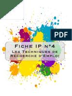 Fiche Ip4 Les Techniques de Recherche Demploi