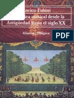 La Estética Musical desde la Antigüedad hasta el siglo XX - Enrico Fubini.pdf