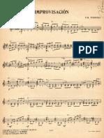 Moreno Torroba Improvisacion