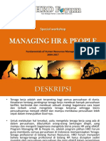 Managing HR & People