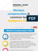 Workers Compensation and Common Law Negligence Claim