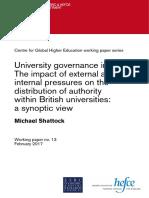 Wp13-University Governance in Flux