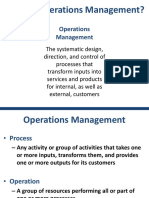 1 - Competing With Operations