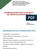 Presentación Para La Sustentación Del Proyecto Predefensa