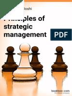 Principles of Strategic Management