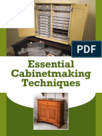 Essential Cabinetmaking Techniques