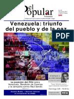 El Popular 395 Órgano de Prensa Oficial del Partido Comunista de Uruguay