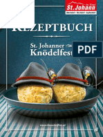 Knödel Rezeptbuch 2017 - Knödelfest St. Johann in Tirol