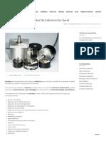 Encoders, Uso e Aplicações Na Indústria Em Geral– Tomadas Multipolares, Cabos Industriais, Tomadas Industriais, Sensores Industriais, Conduítes Industriais, Interface Homem Maquina
