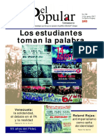 El Popular 396 Órgano de Prensa Oficial del Partido Comunista de Uruguay