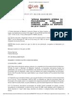 Decreto 3711 2003 de Balneário Camboriú SC
