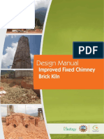 Design Manual for Improved Fixed Chimney Brick Kiln- Nepal