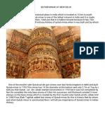 History of Qutub Minar