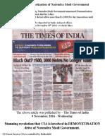 Expose Demonetisation of Narendra Modi Government