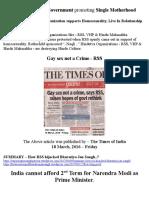 Narendra Modi Government Promoting Decadent Western Culture in India..!!