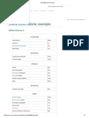 dieta 1400 calorie giornaliere pdf