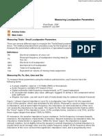 Aku-oevelse 2 - Measuring Loudspeaker Driver Parameters