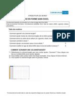 Tuto Excel2003 - Mise en Forme de Tableaux