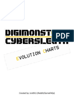 Digimon- Cyber Sleuth - Evolution Guide v1.1