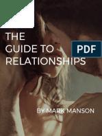 Relationships Mark Manson
