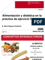 M3.Alimentación y Dietética Aplicada en La Práctica de Ejercicio Físico