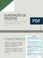 Elaboração de Projetos - Minicurso