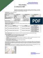 Ficha Tec de Filtro Antibacterial Hmef