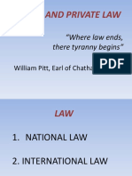 2. National and International Law