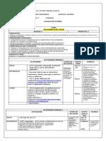 Planeacion 1 Bim Español 1 Reglamentos