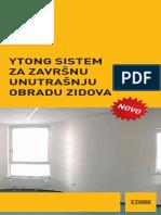 Ytong Sistem Za Zavrs Unutr Obradu Zidova 130828
