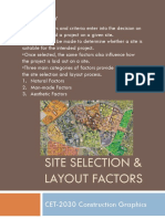 Site Selection PPT