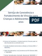 SCFV 6 a 15 Anos_Apresentacao. Anailza 2017