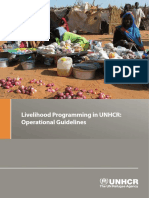 Liveihood Programming in UNHCR- Operational Guide