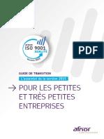 Guide Transition TPE ISO 9001 V2015