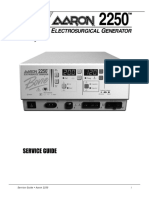 Bowie Aaron 2250 ESU - Service Manual