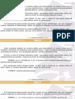 Direito Administrativo - Questão - Exame da OAB - 2012