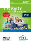 Flyer Ticketpreise