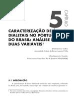 Caracterização das áreas dialetais