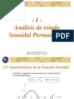 TEMA I - Teoría CA - Análisis de Estado Senoidal Permanente