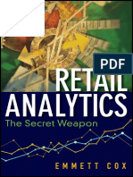 Cover & Table of Contents - Retail Analytics; The Secret Weapon