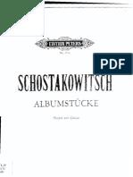 Shostakovich - Album Stucke - violin and piano.pdf