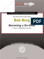 Genius Network Interview Bob Burg