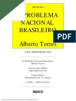 O Problema Nacional Brasileiro Alberto Torres-1