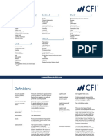 Financial Analysis Glossary