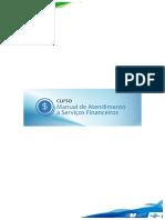 Manual de Atendimento a Servicos Financeiros