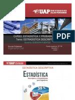 Sesion 01 Estadistica -Tema Estadistica Descriptiva Parte II