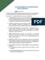 LA CORRIENTE EVOLUCIONISTA Y SU APRECIACIÓN POR EL DERECHO.docx